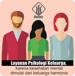 Kesehatan mental anak dan remaja dipengaruhi oleh rumah tangga harmonis keluarga
