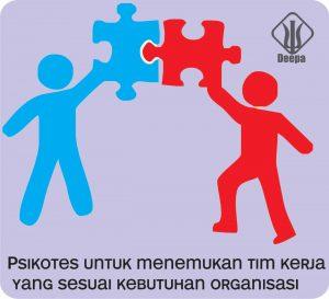 Psikotes untuk menemukan tim kerja yang sesuai kebutuhan organisasi perusahaan