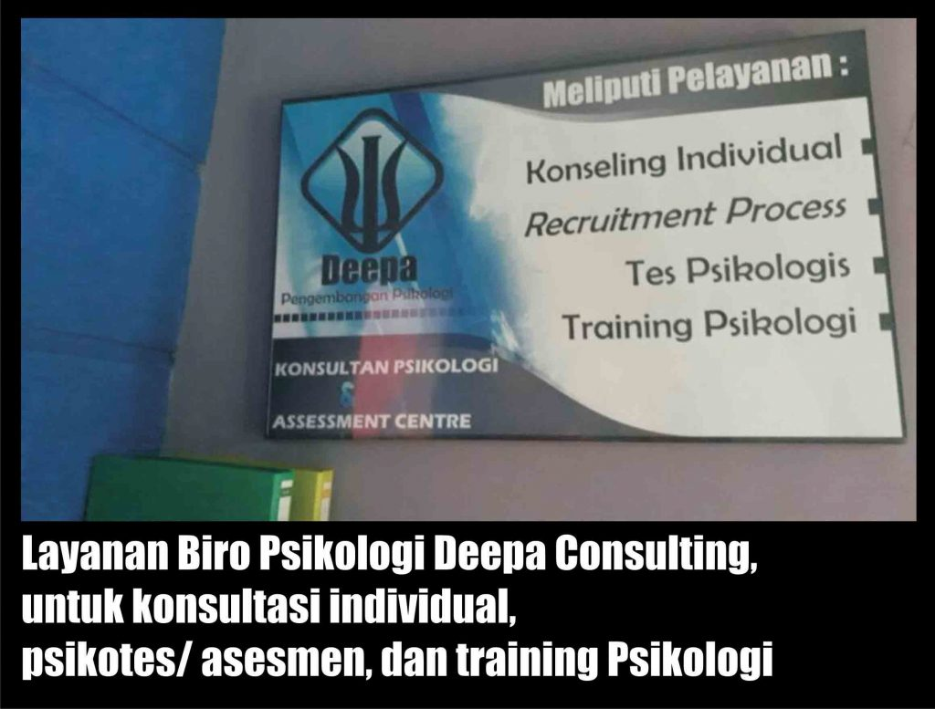 biro psikologi Deepa Consulting layanan konsultasi individual dan psikotes