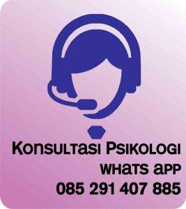 konsultasi psikologi silahkan whatsapp di 085291407885