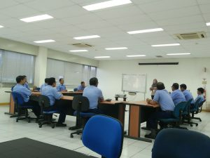 Proses Asesmen Center tim Supervisor Up di Perusahaan NTRI Piston Ring Indonesia, Karawang