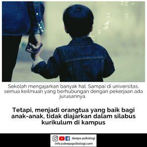 Seminar Parenting Psikologi, menjadi orangtua yang baik bagi anak-anaknya
