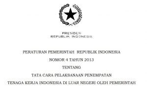 peraturan pemerintah tentang tenaga kerja Indonesia membahas tentang kesiapan psikologis